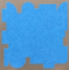 Resting State Blue, 2016, 32 x 32