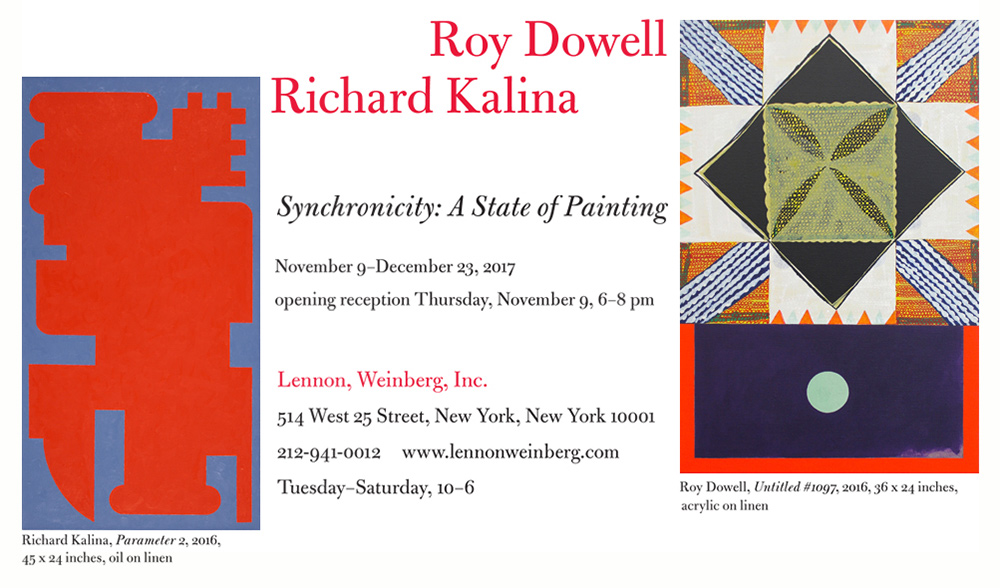Richard Kalina, Roy Dowell - Synchronicity: A State of Painting